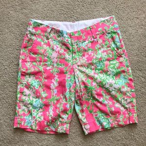 Lilly Pulitzer Chipper Shorts Size 0